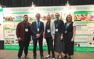 HEALTHY FAMILIES HUTT VALLEY SHOWCASED AT MINISTRY FORUM