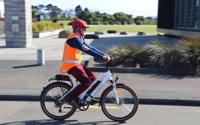 COUNCIL E BIKE CLOCKS UP THE SMILES IN FIRST FEW MONTHS