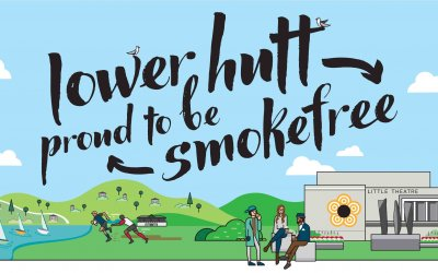 MORE SMOKEFREE PUBLIC SPACES GIVEN A BOOST IN LOWER HUTT