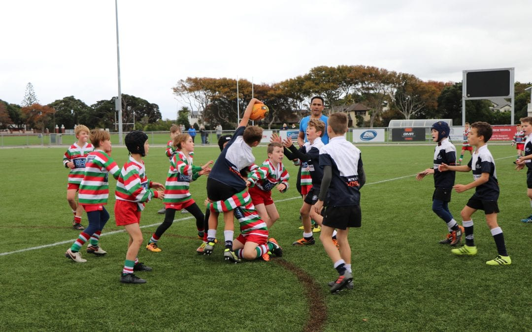 POOL PASSES PERFECT REWARD FOR RUGBY JUNIORS