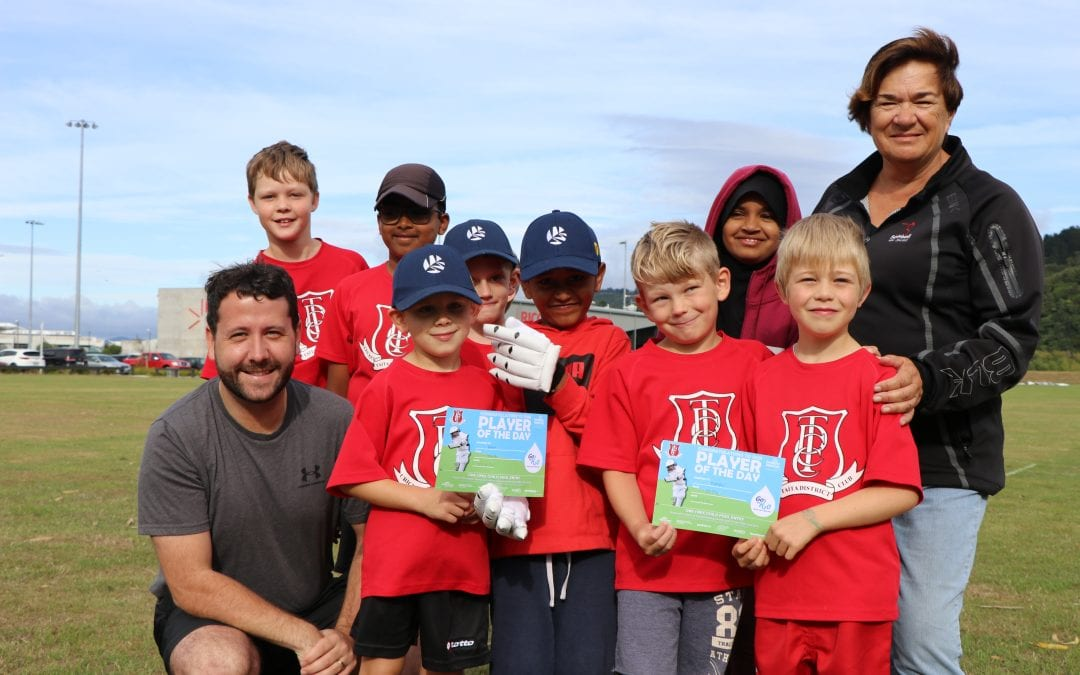 CRICKET KEEN MAYOR REWARDS JUNIOR PLAYERS WITH POOL PASSES