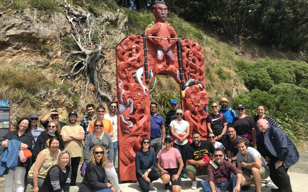 Connection and learning together – Matiu Island experience