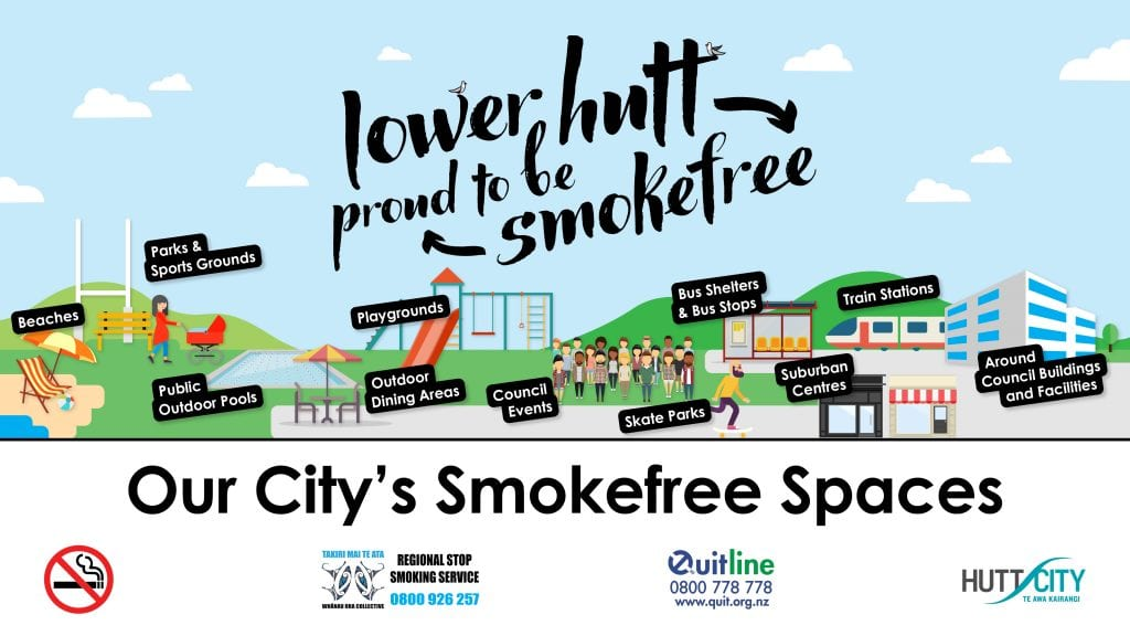 World Smokefree Day 2020: We're creating a smokefree Hutt Valley