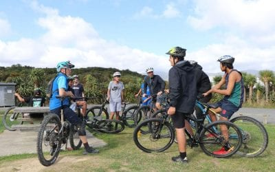 Engaging young people to be active with dirtskool initiative